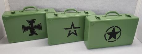 Stahlblechkoffer & Boxen