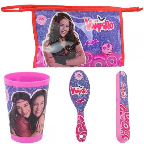6x Trousses de toilette+ 3 accessoires Chica Vampiro