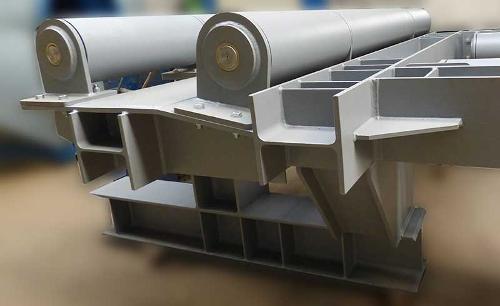 Schweißen von Stahlkonstruktionen