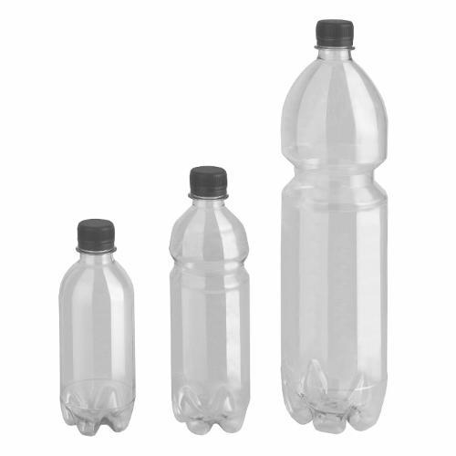 Rund-Flaschen Serie ACQUA - Polyethylenterephthalat