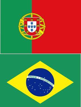 Traducciones de portugués brasileño y europeo