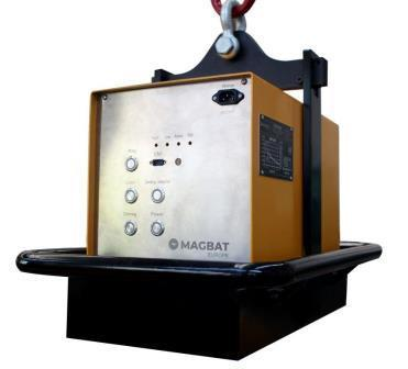 Electro Permanent Magnetic Lifter with battery