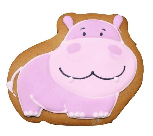 """Gingerbread""""BABY HIPPO"""""""