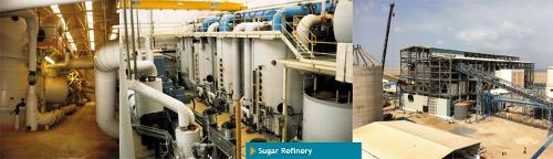 Sugar refinery EPC construction
