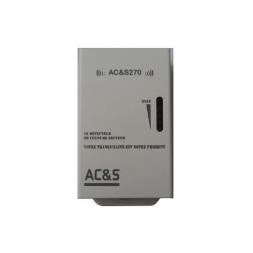 Alarme coupure de courant par le reseau GSM - ACS270