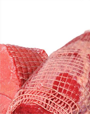 Nets for cooking meat