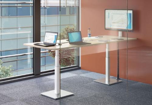 Table de réunion multimédia assis-debout