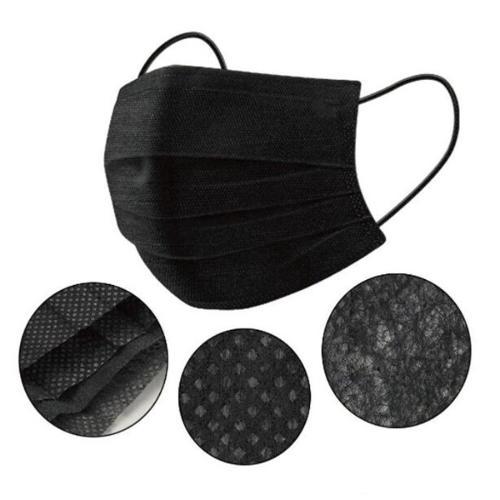 Máscaras quirúrgicas de color negro Tipo IIR Nivel Máscara