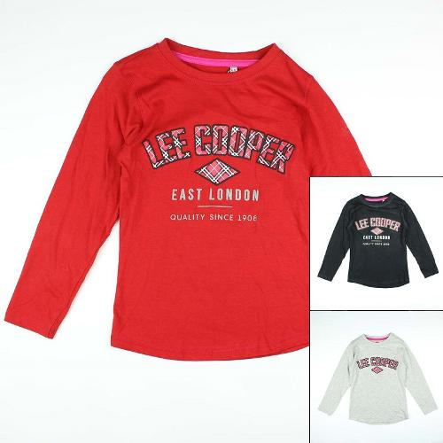 Wholesaler kids clothing t-shirt Lee Cooper