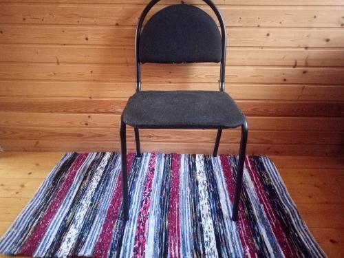Handwoven   rag rug runner