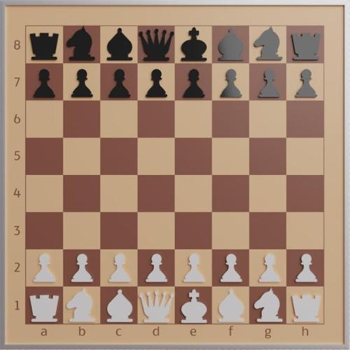 Демонстрационная шахматная доска