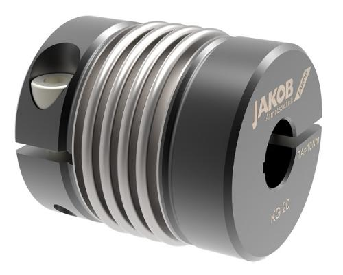 Miniature metal bellows coupling MKG