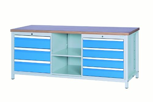 Workbench 2000 with 6 drawers