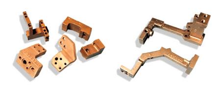 Connexions de transformateur & d'amenées de courant