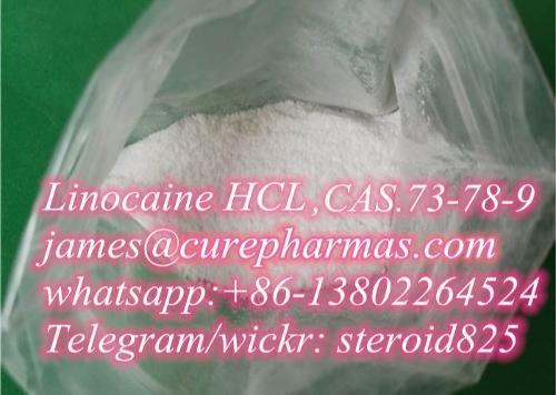 Supply best Lidocaine HCL Lidocaine Hydrochloride 6108-05-0