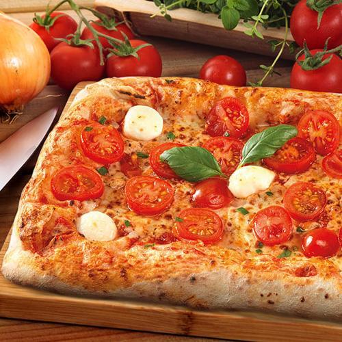 Pizza rettangolare Napoletana