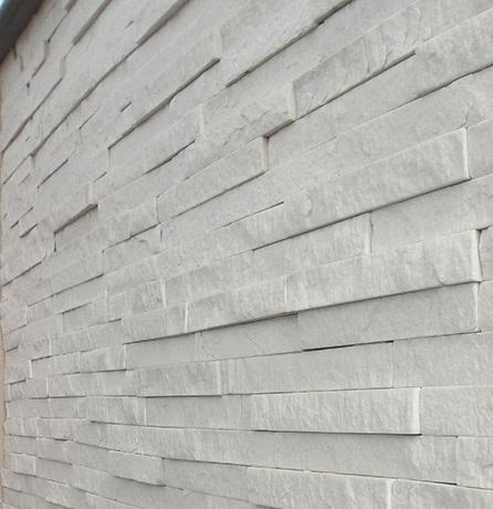 Filete quartzito branco