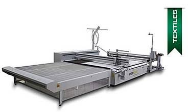 Laser cutter system for textiles