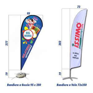 Bandiere Pubblicitarie Personalizzate