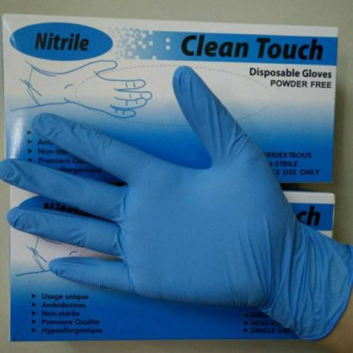 Nitrile Clean touch gloves good quality
