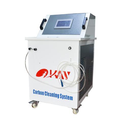 máquina de limpeza de carbono do motor