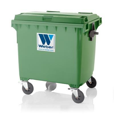 Mobile waste containers MGB 1100 L FL C