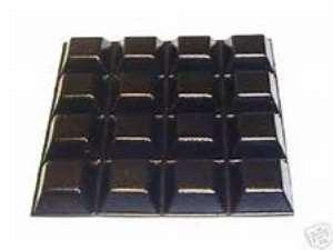self-adhesive rubber bumper