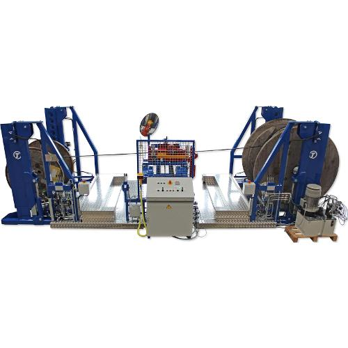 Machinery for Reeling of Cables