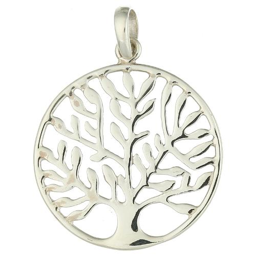 Ciondolo d'Argento Sterling L'albero Della Vita