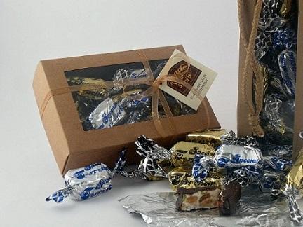 Torroncini morbidi al cacao e alla vaniglia