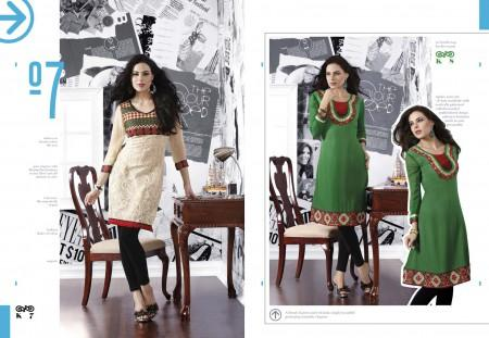 Party wear cotton kurti for ladies
