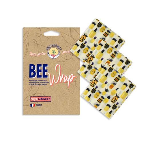 Innovant Et Ecologique : Emballages Alimentaires Réutilisables Beewrap - Motifs