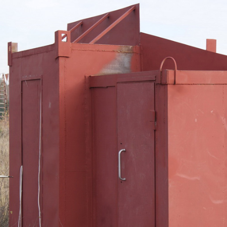 Explosion-proof checkpoint