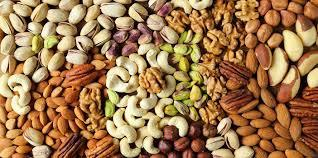 Different kind of nuts
