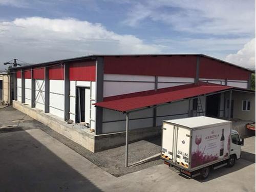 Refrigerating warehouses