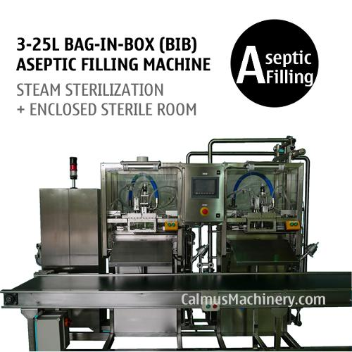 Semi-automatic Double-head Bag in Box Aseptic Filler