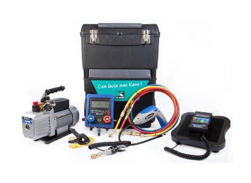 Servante complète avec manifold électronique