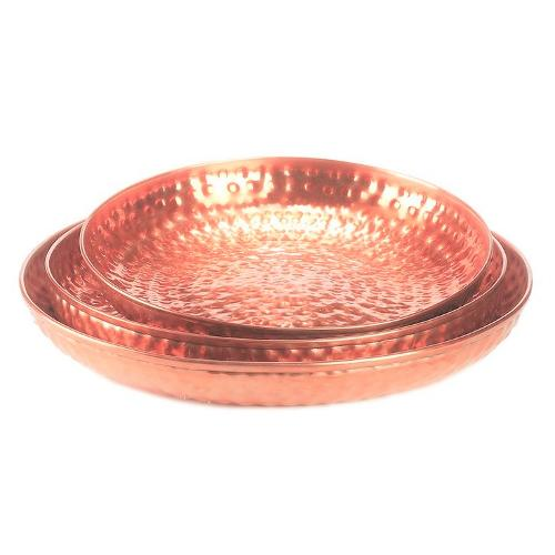 Copper Trays Sets