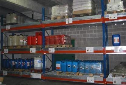 Bac de rétention pour rayonnage 720 litres
