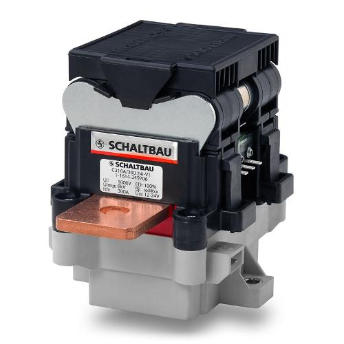 Contactors for applications with energy recovery
