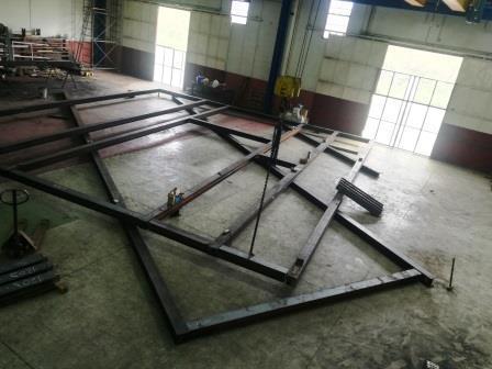 Carpenteria metallica pesante