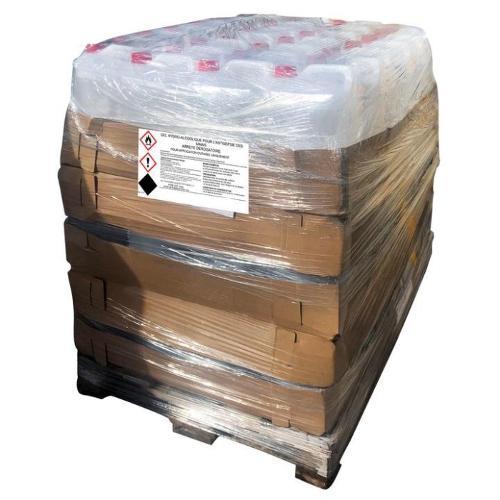 Palette 100 bidons de 5L de gel hydroalcoolique