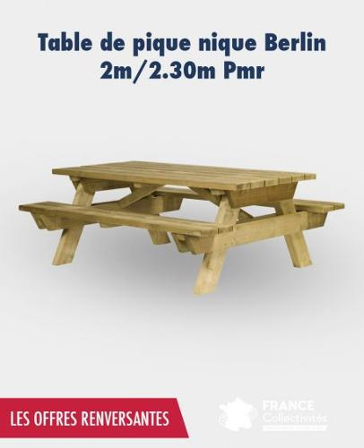 Promo Table Pique Nique Berlin