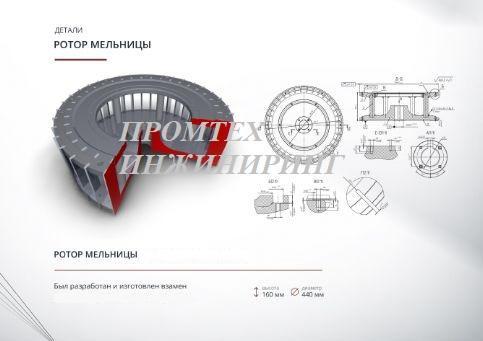 Ротор мельницы