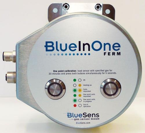 CO2/O2 Analyzer - BlueInOne Ferm