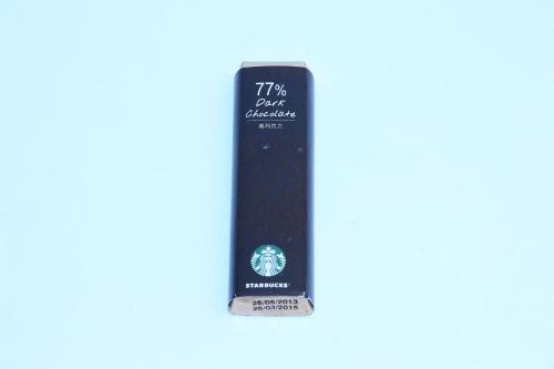 STARBUCKS 77% Dark chocolate