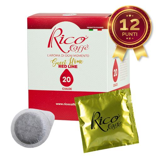 Cialde Rico Caffè Red Line 120pz