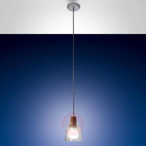 Syrna - Hanging Light with Cork Suspension