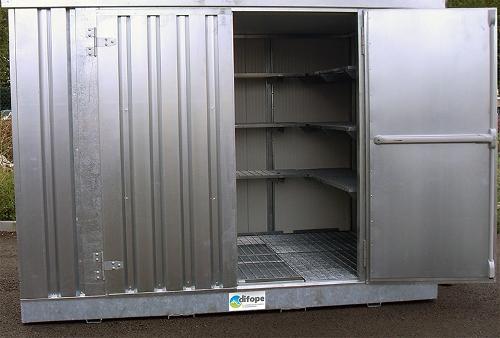 Bungalow de stockage 3 m x 2 m - Bungalow isolé -...