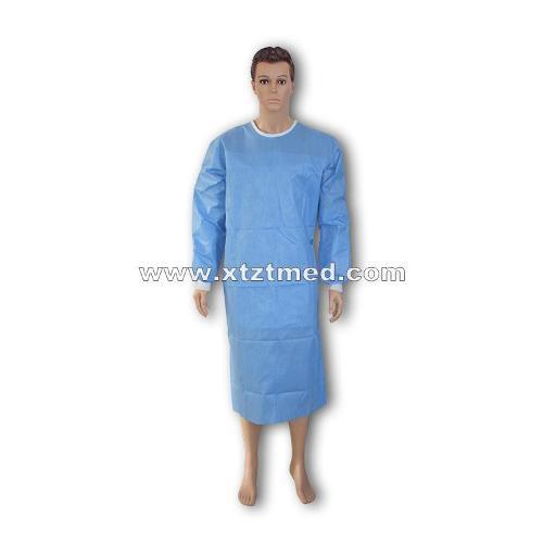 Reforçado SMS cirúrgico vestido